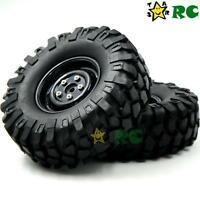 4 Stück RC 1/10 108mm 1.9 Reifen Tires Hex 12mm Wheels für RC Rock Crawler Truck