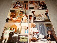 DROLE DE ZEBRE claude francois coluche rare jeu photos cinema lobby cards 1977