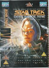 Star Trek Deep Space Nine VHS 4:11 The Muse/For The Cause