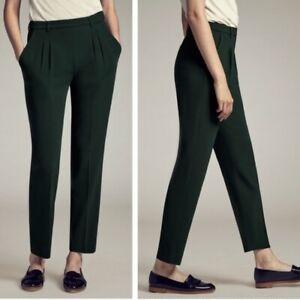 NEW MM Lafleur Size 12 The Nakamura Trouser Black Pant
