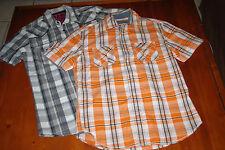 Lot de 2 chemises, Celio et C&A, manches courtes, taille S, excellent état