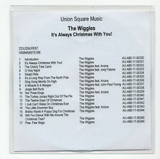 (IV6) The Wiggles, It's Always Christmas With You! - DJ CD