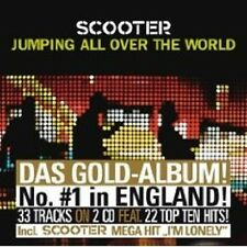 """SCOOTER """"JUMPING ALL OVER THE WORLD"""" 2 CD LTD. EDITION"""