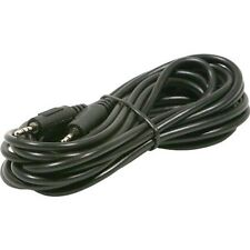 Steren 252-603 Stereo Audio/Video 3' Cable 2.5mm Stereo Mini Male To Min Male