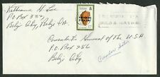 """1981 Belize Sc #577a - 10c Shell """"1980"""" Independence Overprint on Local Cover"""