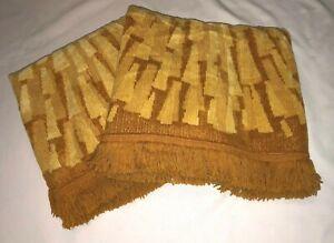 Vintage 70's Fieldcrest Gold Bath towels set of 2