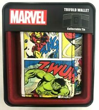 Marvel Avengers Trifold Wallet With Collectable Tin