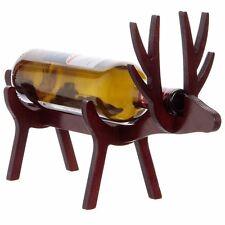 Vinology Wooden Bottle Holder Reindeer, BH/RD