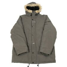 CARHARTT Padded Parka Jacket | Coat Workwear Fur Zip Insulated Vintage