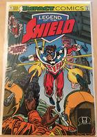 Legend of the Shield #1 Impact Comics 1991 Comic Book VF