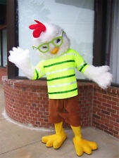 New ADS Chicken Little Mascot Costume Cartoon Fancy Cosplay Suit Animal Clothing