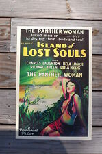 Island of lost souls Lobby Card Movie Poster Charles Laughton