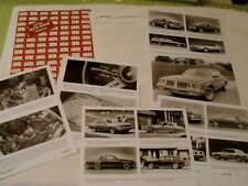 1981 Oldsmobile Auto Show Press Kit Cutlass Omega Delta 88 98 Toronado