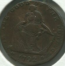 Conder - 1792 Ireland - Dublin - For Good of Publick - D & H 380 - Lot #EC 1357