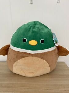 """Squishmallows 16"""" Avery The Duck BNWT HTF"""