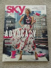 Delta Air Lines Delta Airlines Sky Inflight Magazine  October 2016  Amy Robach =