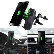 Qi Wireless Car Mount Charger Vehicle Dock Charging Stand for Samsung Galaxy S8