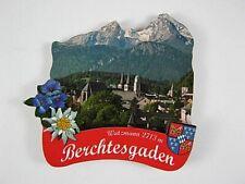 Berchtesgarden,3D großer Holz Magnet,Souvenir Germany Deutschland