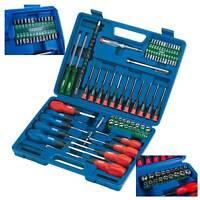 Draper Screwdriver Set 70 Piece Socket Bit Tool Kit Set Precision Mechanics