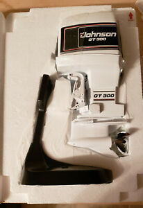 Model Toy outboard  Alterscale GT 300 johnson  N.O.S.