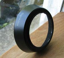 genuine 55mm screw in metal lens hood for 35mm 2.8   Minolta MC MD 79 x 19