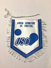 US Créteil USC fanion vintage foot football pennant wimpel banderin