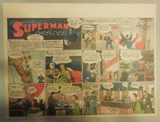 Superman Sunday Page #171 by Siegel & Shuster from 2/7/1943 Half Page:Year #4!
