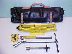 Ferrari 512BB Jack Kit_Roll Bag__Ratchet_Extension Tool_Spark Plug Wrench_365BB