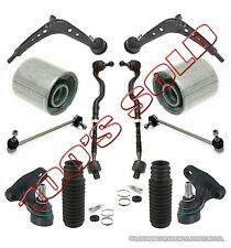 Control Arms Ball Joints Tie Rods BUSHING Rack Boots Kit for BMW E46 325Xi 330Xi