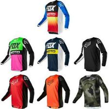 FOX Men Riding Jersey Long Sleeve T-shirts Motocross/MX/ATV/BMX/MTB Dirt Bike