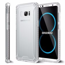 For Samsung Galaxy S8 [Affinity] Shockproof Case Bumper Protective Cover Clear
