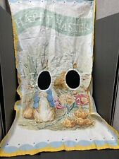 Pottery Barn Kids Happy Easter Peter Rabbit Photo Op Banner Bunny Holiday PreOwn