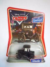 Disney pixar movie cars Lizzie mattel serie supercharged raro scala 1:55 maclama