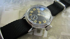 WW2 ELGIN MILITARY WATCH USN BUSHIPS  WITH NEW NAVY CASE