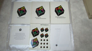 """Vintage manuals, books, stickers of NeXT Computer """"good condition anf free ship"""""""