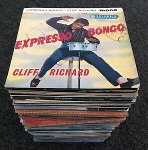 "JOB LOT OF 100 x 7"" singles 45rpm 1950s & 1960s rock pop & jazz etc *ALL LISTED*"