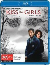 KISS THE GIRLS (Morgan Freeman)  -   Blu Ray - Sealed Region B /UK
