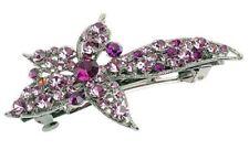 Flower Crystal Hair Clip Costume Hair & Head Jewellery