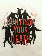 Vail Lake 2013 Zombie Run Run From Your Death T Shirt Size S Small