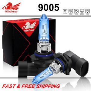 2x 9005 HB3 HID Xenon HID Xenon Light Bulbs High Beam Lamp Headlight Super White