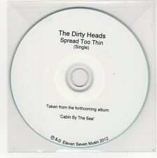 (FE691) The Dirty Heads, Spread Too Thin - 2012 DJ CD