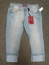 Red Rivet Capri Jeans Women's size 7 NWT