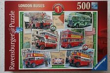 "Ravensburger ""London Buses Up To 1945"" - 500 pc Premium Puzzle"