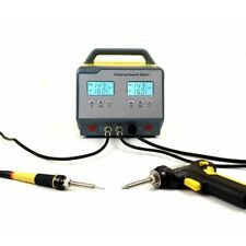 ZD-8917 ESD Soldering-desoldering Station ESD with 2 displays