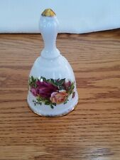 "Royal Albert Old Country Roses 1962 Decorative Bell 4.75"" Collectible Vintage"