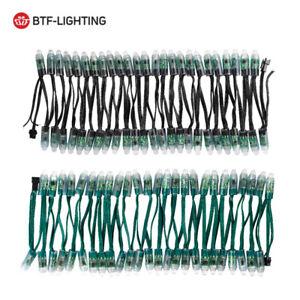 50Pcs LED Pixel Module String Round RGB WS2811 IC 12mm Digital IP68 DC 5V