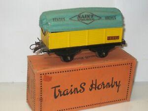 Wagon bâché St Frères HORNBY échelle 0