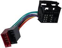 Adaptateur faisceau câble fiche ISO autoradio pour Ford Mondeo S-Max Transit