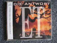 Die Antwort-ET-Meine Jahre mit Elizabeth Taylor Maxi CD-1991 Germany-Pop-Wea