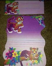 Lisa Frank Vintage Stationery Hunter Purple Sheet And Envelope Die Cut